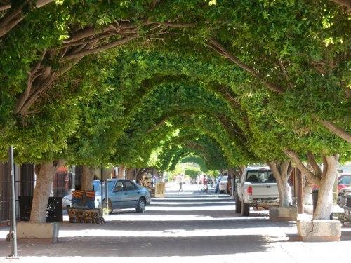 Loreto walkway
