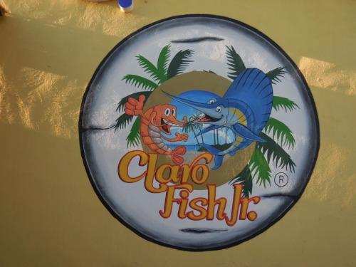 Nice fish and prawn tacos