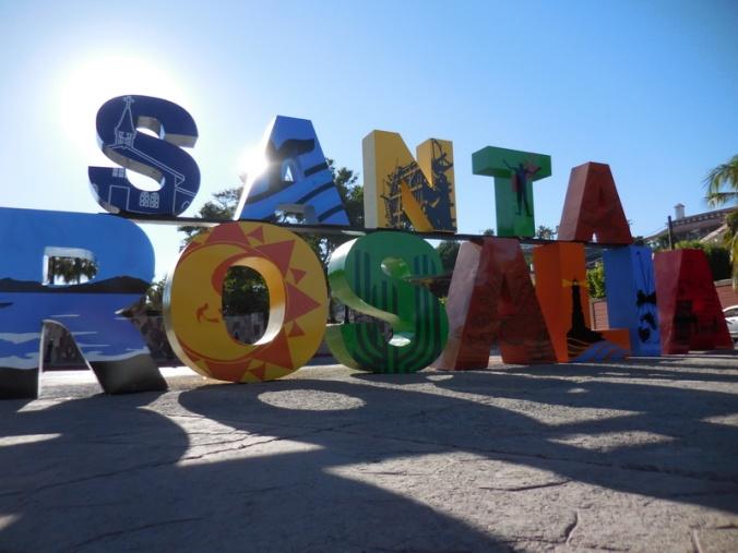 Santo Rosalia sign 1