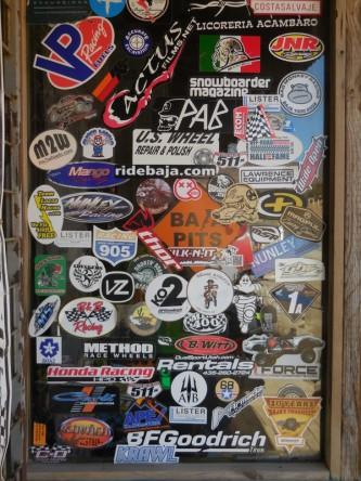 Sticker door 3