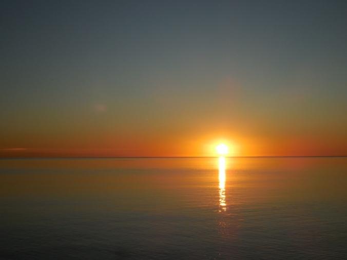 Sunrise in Santa Rosalia 1