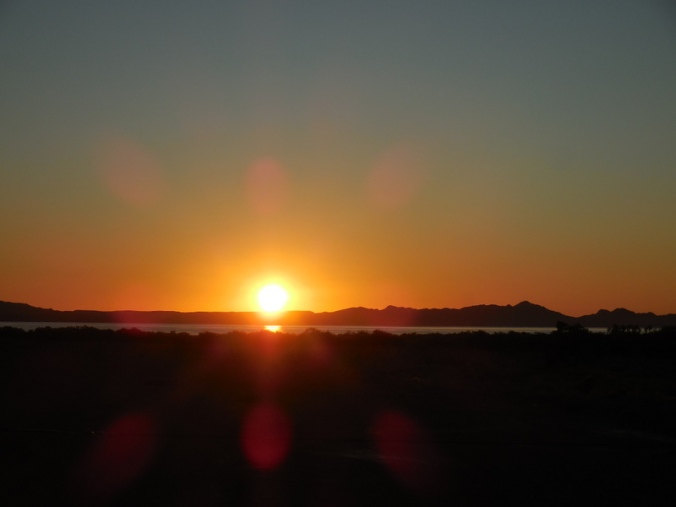 Sunrise on Loreto Bay
