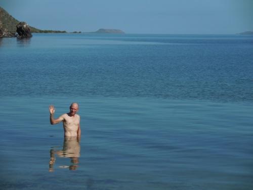 Swimmer Dave