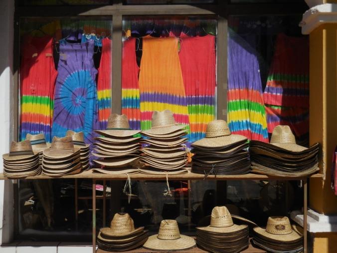 Typical touristic shop