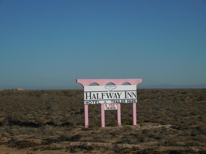 We are more than halfway through Baja