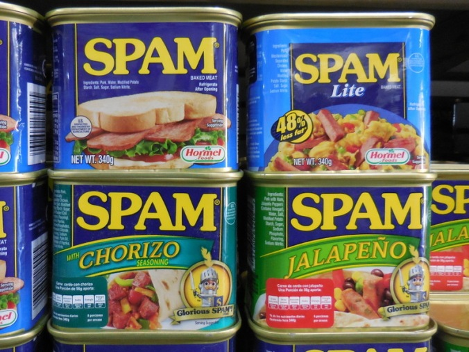 Who knew SPAM flavours