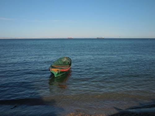 La Paz boat