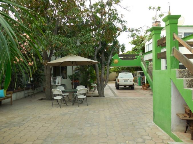 El Nopal courtyard