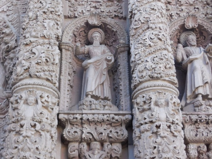 Catedral de Zacatecas detail