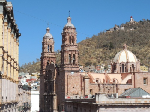 Catedral de Zacatecas from our room