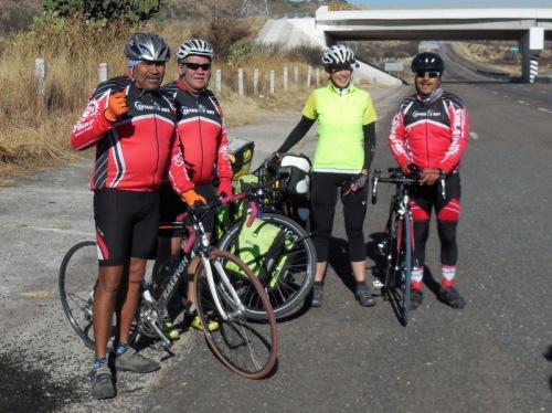 Centauros Bike boys and Nancy
