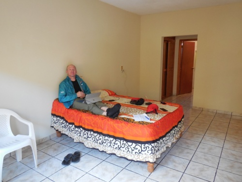 Dave and our room