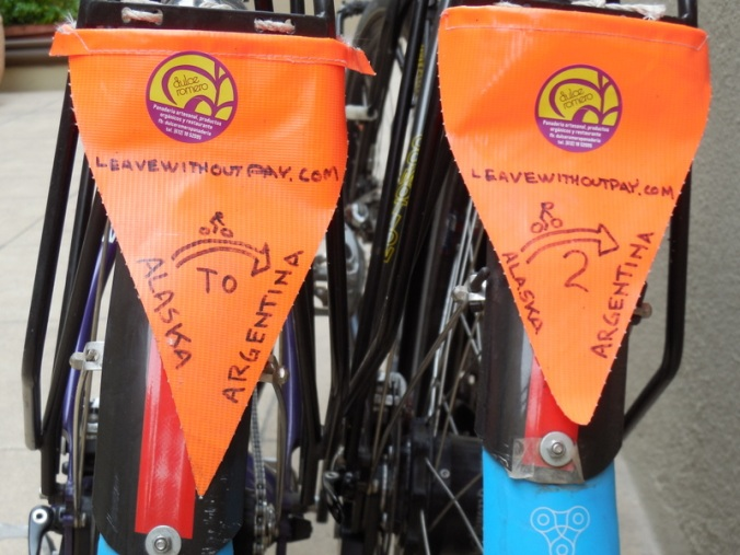 Docle stickers added to our flags