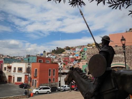 Don Quijote and Guanajuato