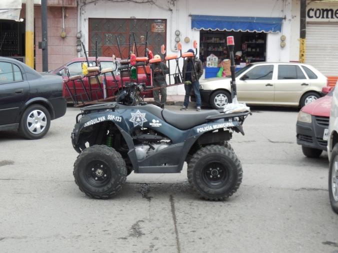 Ixmiquilpan police car