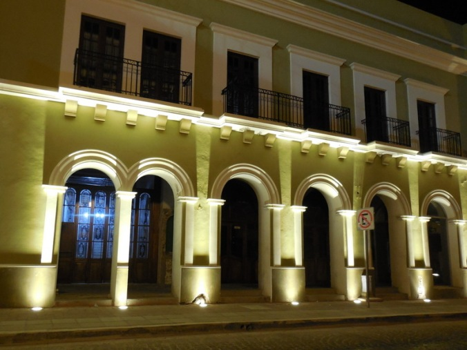Mazatlan Oldtown at night