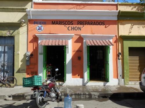 Mazatlan oldtown buildings 23