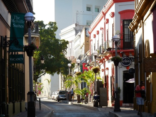 Mazatlan oldtown buildings 30