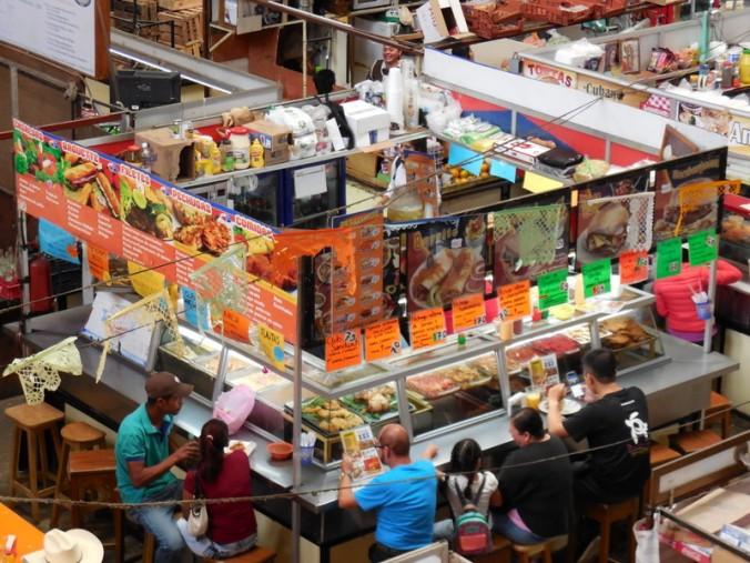 Mercado Hidalgo foos stalls 2