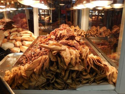Mercado Hidalgo pork skin