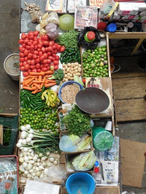 Mercado Hidalgo veggies
