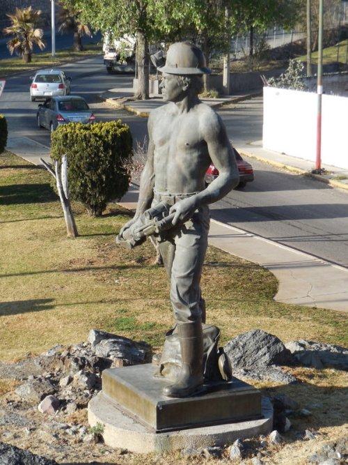 Miner monument in Fresnillo
