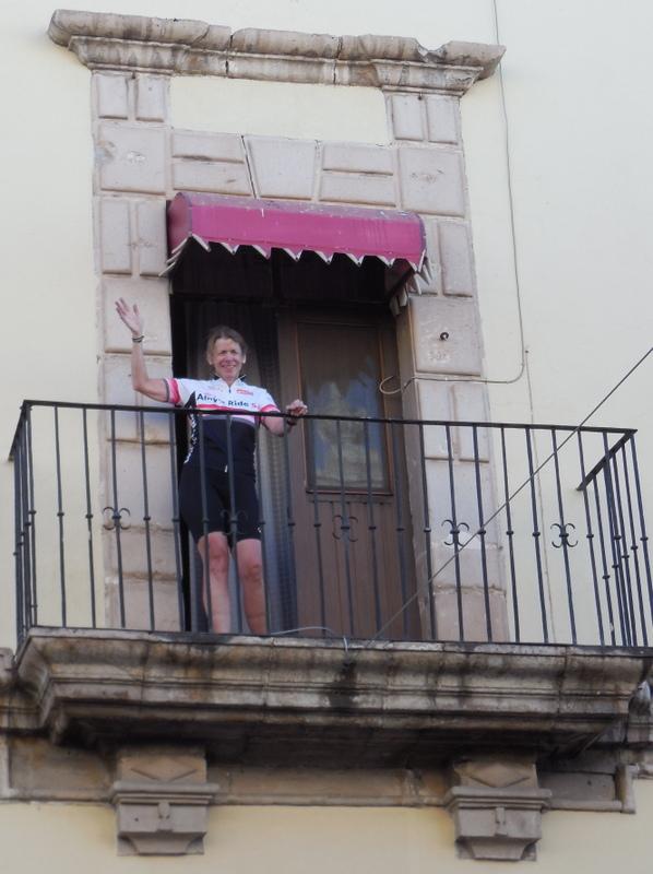 Nancy at Hotel Posada San Jorge