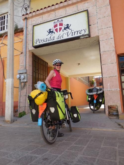 Nancy at Posada del Virrey