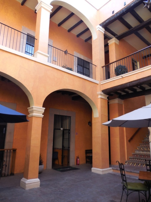Nice hotel - our courtyard
