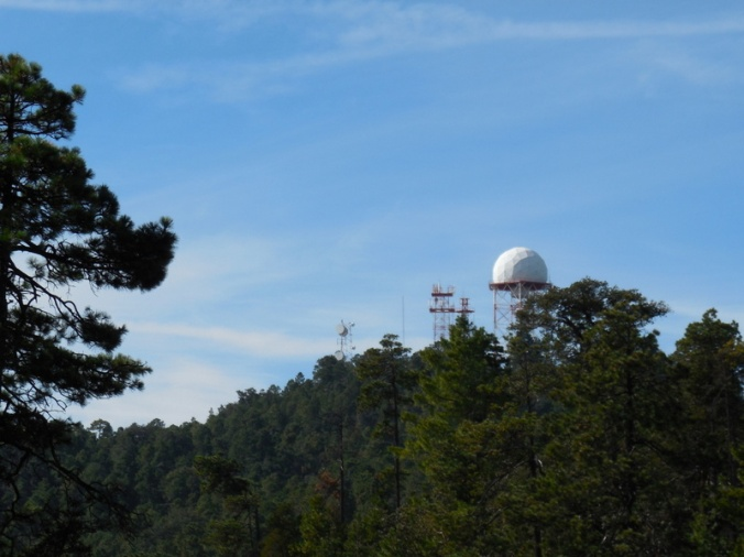 Observatory in route