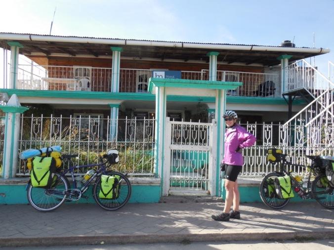 Our guesthouse in El Ciudad