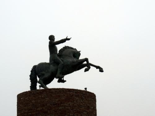 Random statue near San Miguel de Allende