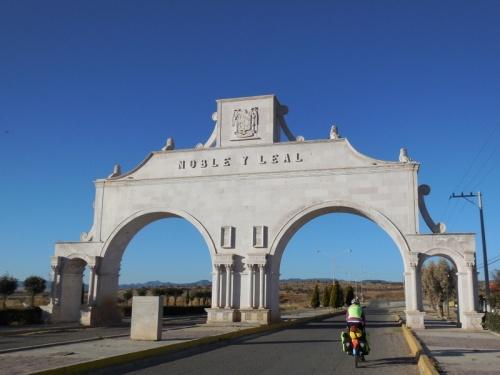 Sain Alto famous arch again