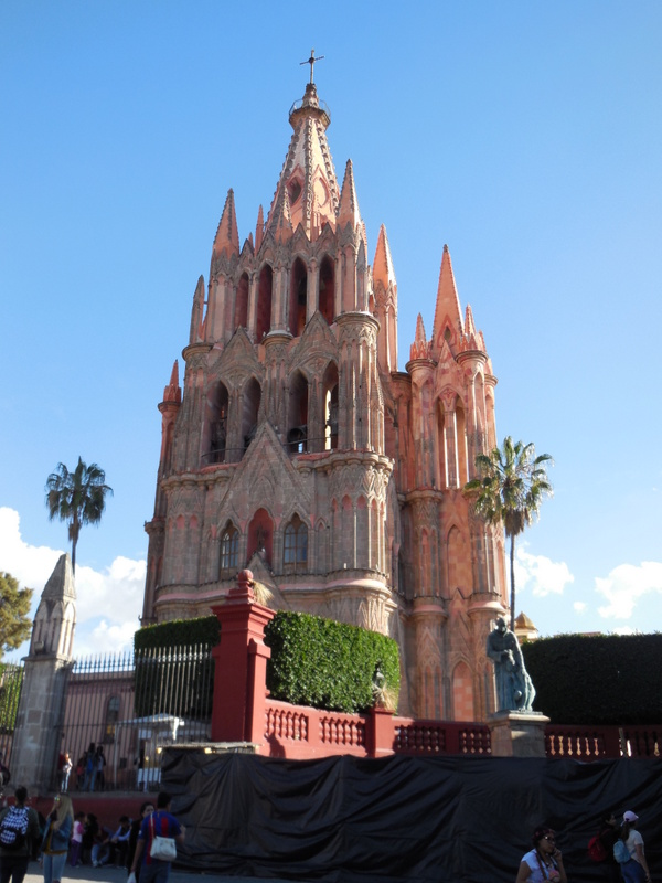 San Miguel de Allende church 1