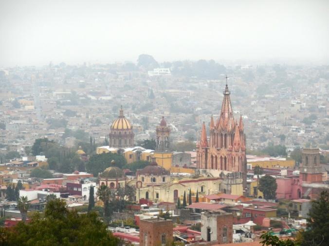 San Miguel de Allende from above