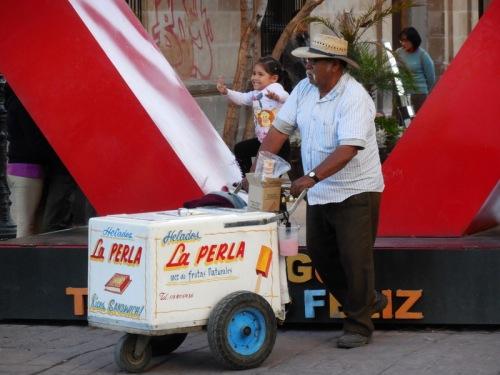 Street seller 1