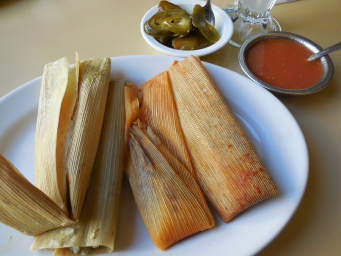 Tamale lunch - yum