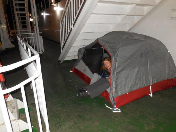 Tent people
