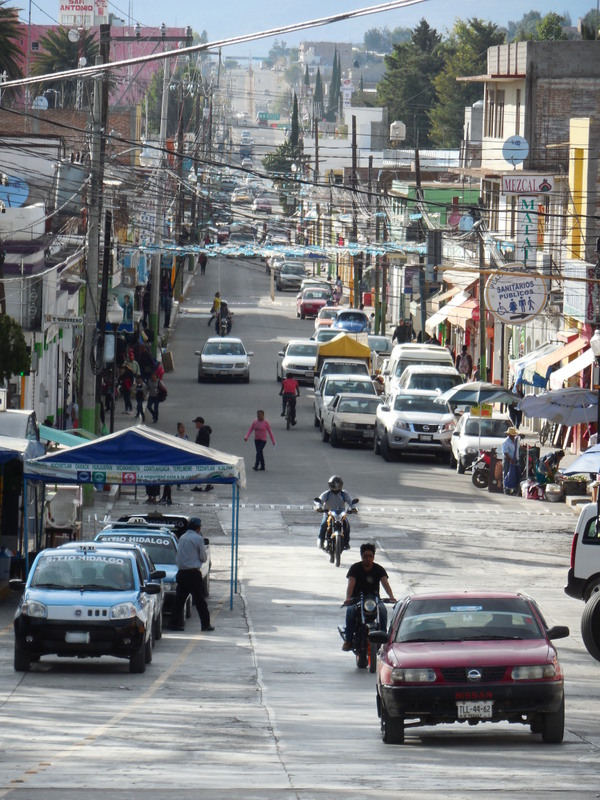 Asunción Nochixtlán typical street