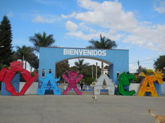 Cool Oaxaca sign