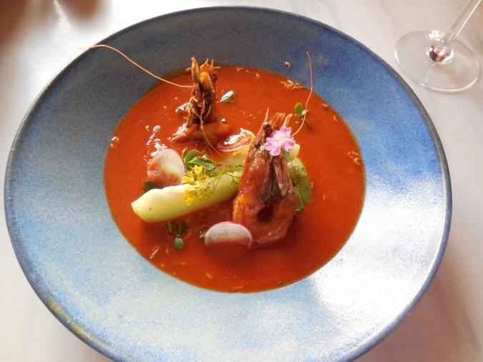 Dinner - shrimp chowder