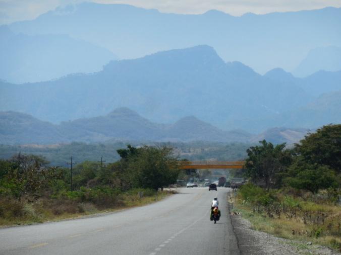 Guatemala mountains looming
