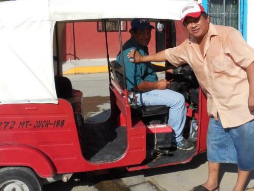 Helpful taxi and tuk-tuk drivers