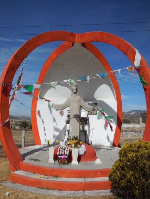Highway shrine