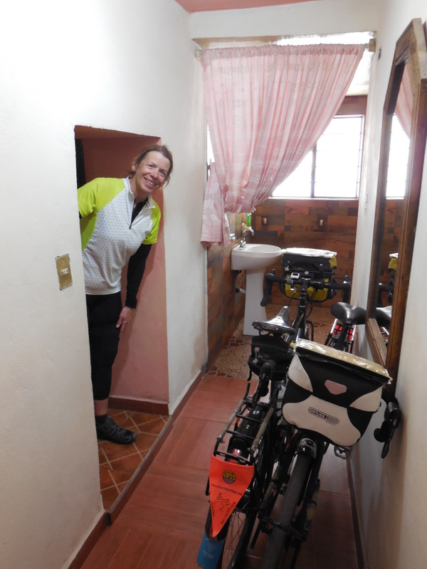 Low door in our room