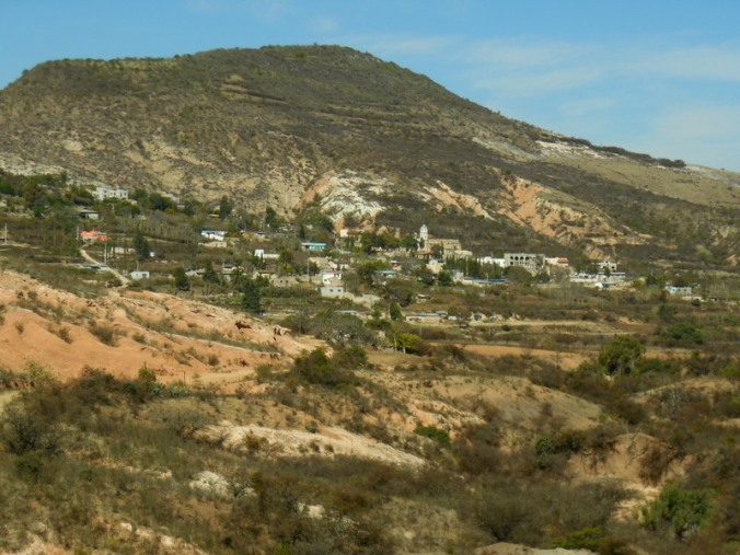 Mexican highcountry town