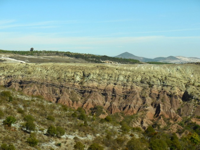 Mexican painted hills