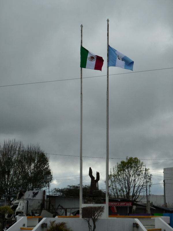 Mexico Guatemala friendship monument