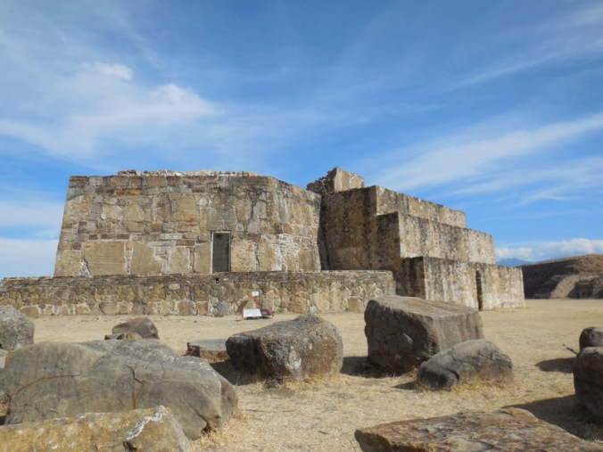 Monte Alban buildings 1