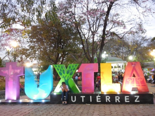 More Tuxtla sign